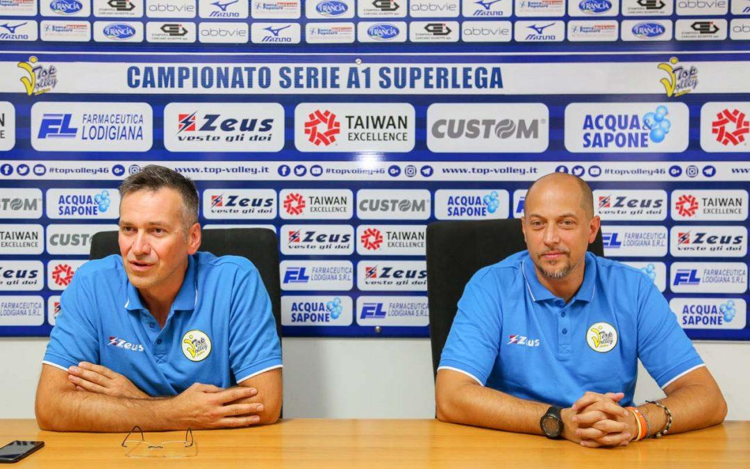 """Il coach Lorenzo Tubertini """"Dobbiamo concentrarci sulla salvezza ma allo stesso tempo provare a essere protagonisti"""""""
