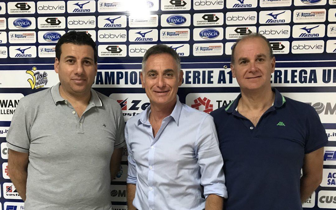 Domani primo allenamento congiunto dalle 17 al PalaBianchini. Salvatore Battisti è il nuovo nutrizionista della Top Volley Latina