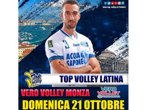 TOP VOLLEY LATINA vs VERO VOLLEY MONZA (21/10/18)