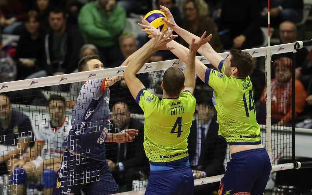 """Comunicato stampa, la Top Volley Latina torna sconfitta nettamente da Ravenna. Tubertini: """"Abbiamo affrontato una squadra che sta giocando molto bene, dobbiamo continuare a lavorare per cercare punti salvezza in ogni partita""""."""