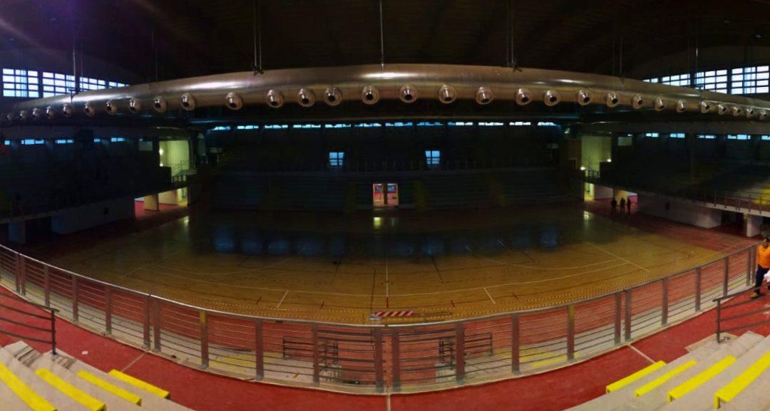 Comunicato stampa, il nuovo palazzetto dello sport di Cisterna di Latina ospiterà la partita tra Top Volley Latina e Tonno Callipo Calabria Vibo Valentia di domenica alle 18:00