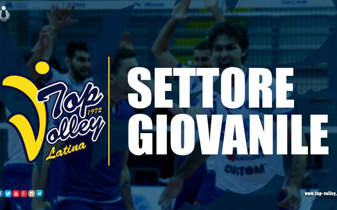 Settore giovanile, la Top Volley Latina qualificata per la finale a quattro: le ultime vittorie (pesanti) hanno rilanciato la squadra