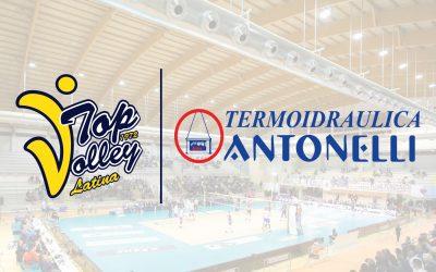 Comunicato stampa, Termoidraulica Antonelli è il nuovo partner della Top Volley Latina