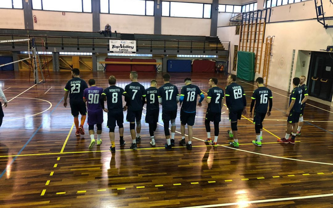 Settore giovanile (serie C maschile) la Top Volley Latina supera il Lara srl Roma XX volley