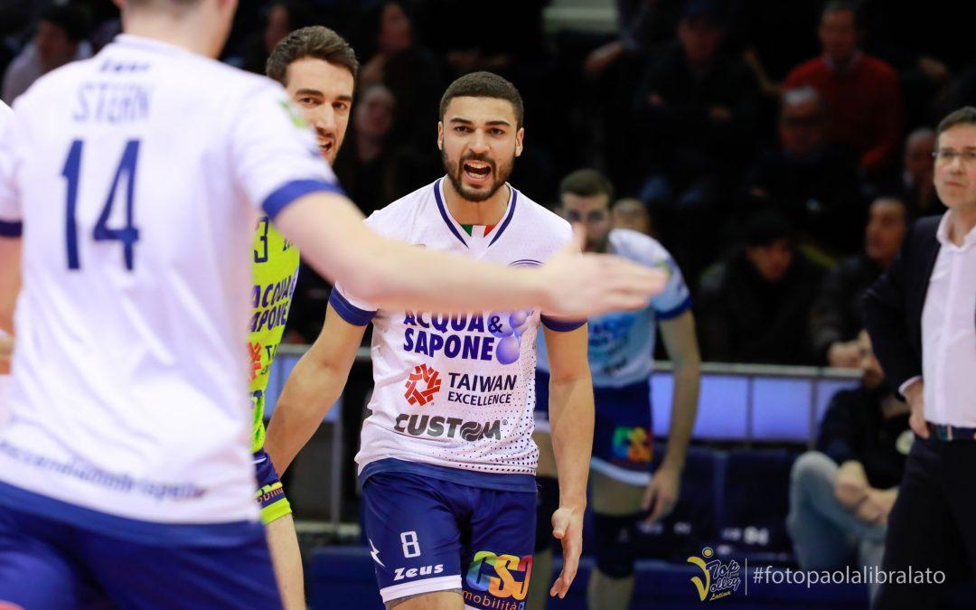 La Top Volley Latina domani alle 18 riceve Trento, al palazzetto dello sport di Cisterna di Latina le telecamere della Rai