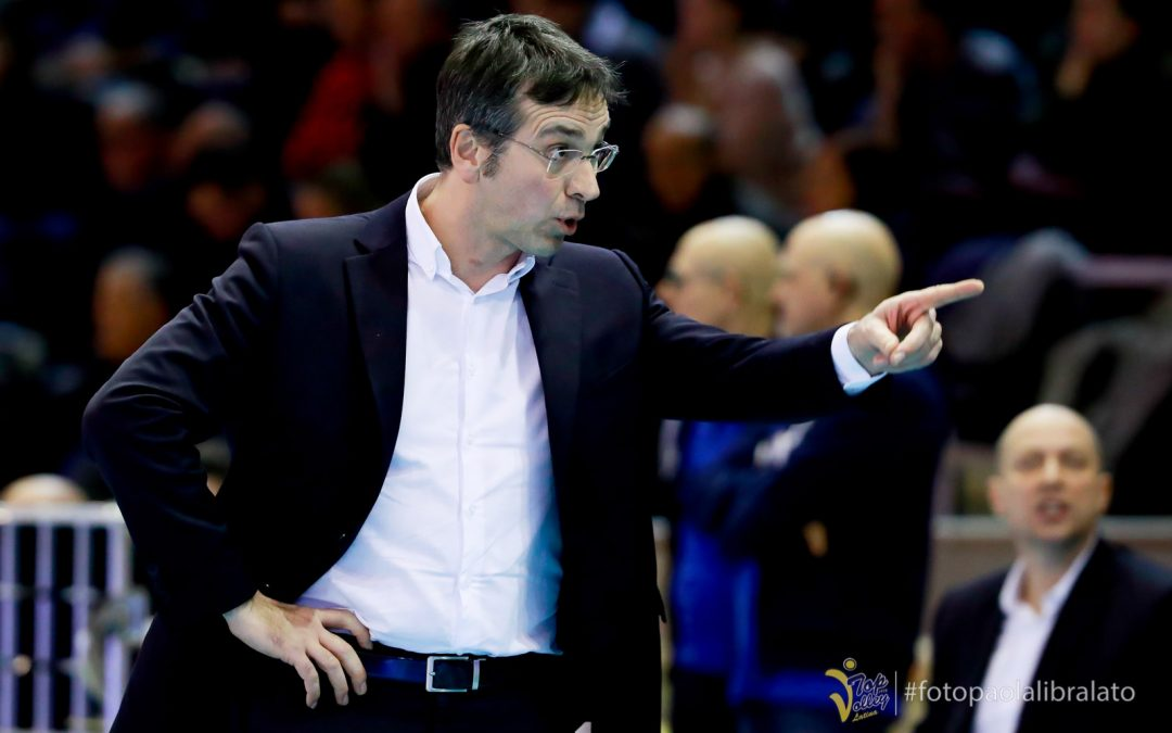 """Comunicato stampa, la Top Volley Latina verso Modena. Tubertini: """"Domenica faremo di tutto per cercare di disputare una delle nostre migliori partite"""""""