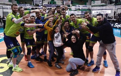 """Comunicato stampa, la Top Volley Latina vince a Siena e incassa punti pesanti in chiave salvezza. Parodi: """"Sono molto felice per questa vittoria di squadra, il nostro atteggiamento ha fatto la differenza"""""""