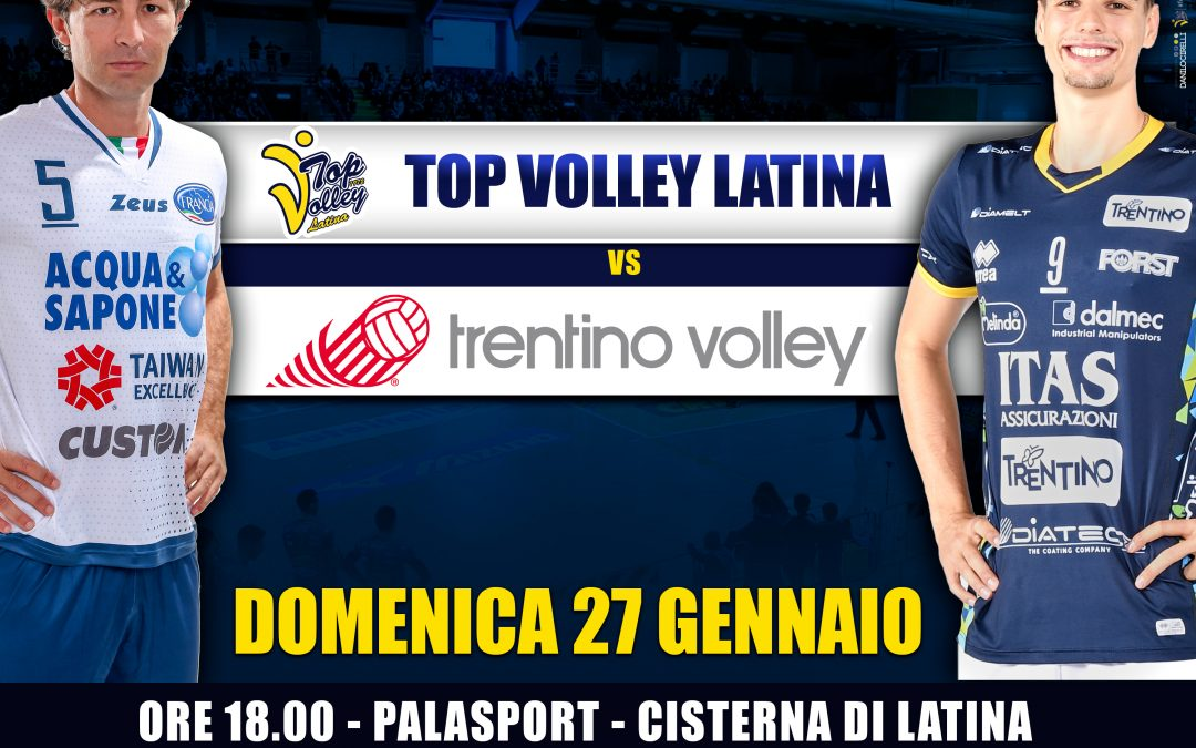 """La Top Volley riceve la visita dei campioni del Mondo di Trento: ecco come e dove acquistare i biglietti. La Top Volley rilancia la campagna solidale """"C'era una volta la cena"""""""