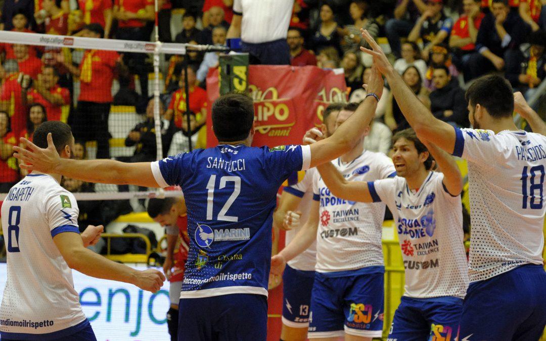 """La Top Volley Latina conquista tre punti pesantissimi con Vibo. Ngapeth: """"E' stata una bellissima vittoria di squadra"""""""
