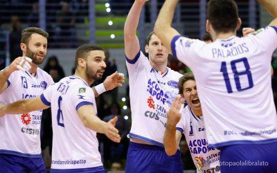Tre giorni di vacanza per la Top Volley Latina, poi domenica 17 febbraio arriva il Consar Ravenna, biglietti già in vendita online