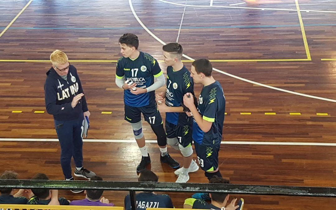 Settore giovanile, la Top Volley Latina torna al successo nello scontro diretto contro la Fenice Roma