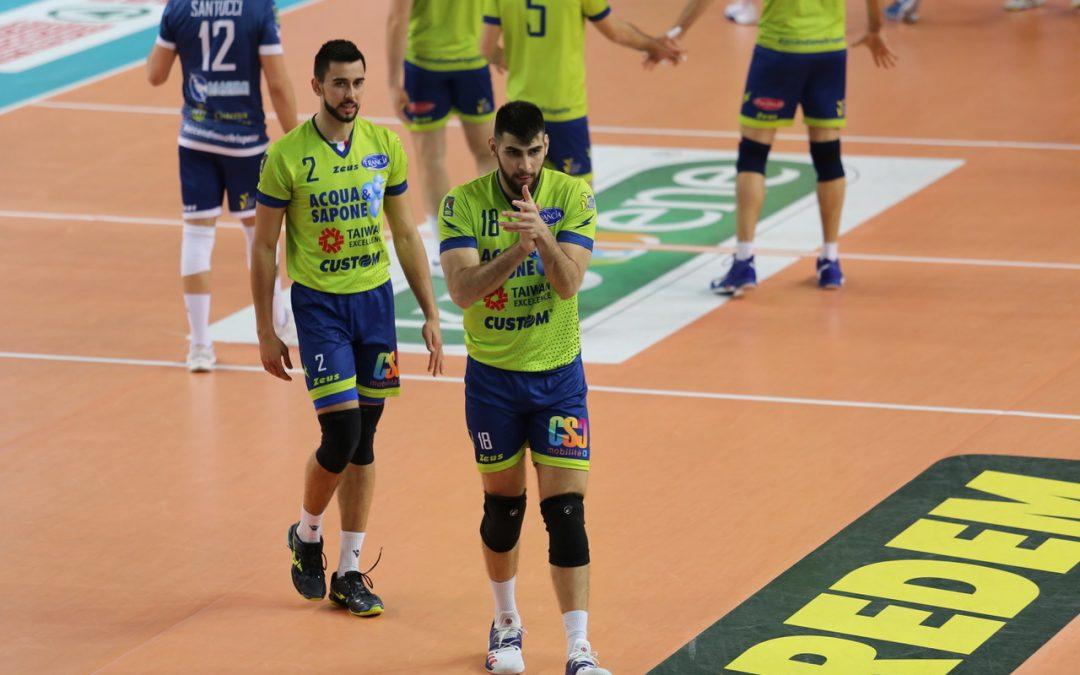 """La Top Volley Latina cede nella trasferta di Padova. Tubertini: """"Abbiamo chiuso la stagione con il giusto spirito"""""""