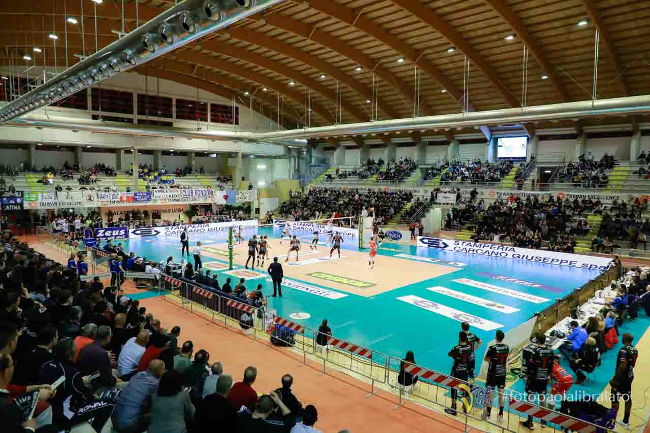 Top Volley Latina vs Cucine Lube Civitanova (03/03/2019 ...