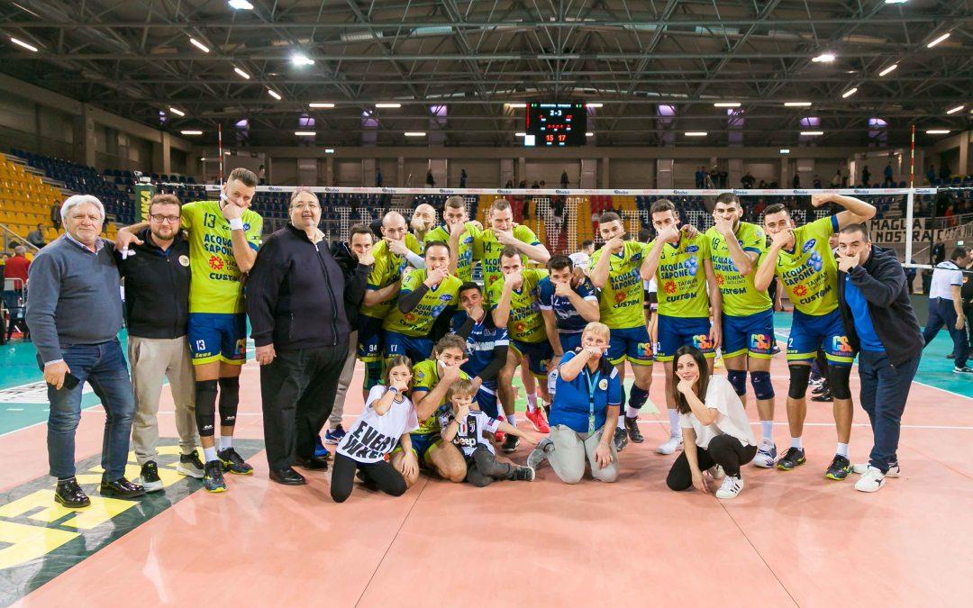"""La Top Volley recupera e vince con il cuore il sesto derby consecutivo con Sora. Tubertini: """"Volevamo Vincere"""""""