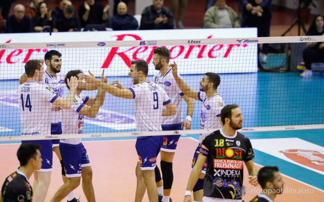 La Top Volley Latina impegnata nel derby con il Sora: domani al PalaCoccia di Veroli per provare a migliorare la classifica