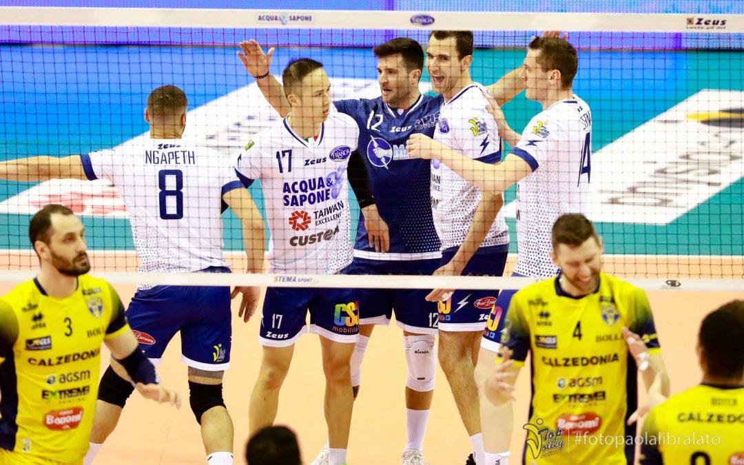 La Top Volley Latina perde ma fa sudare Verona: annullati ben 12 match point in una partita infinita
