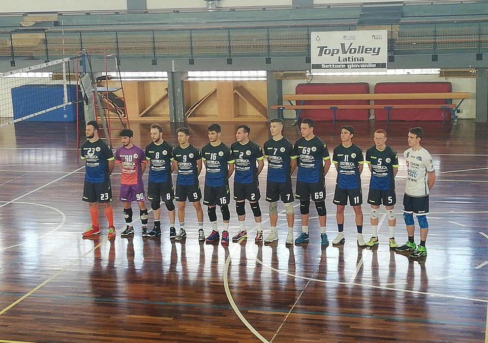 Settore giovanile (serie C) la Top Volley Latina supera la capolista Zagarolo (3-1) e conquista la salvezza matematica