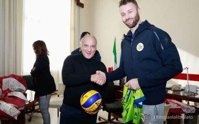 """La Top Volley saluta il Questore Carmine Belfiore. Candido Grande: """"La sua vicinanza è stata molto importante per noi"""""""
