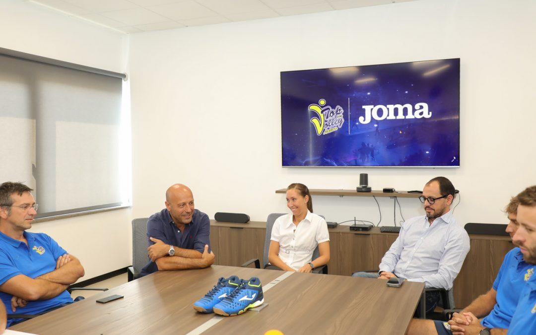 La Top Volley sceglie Joma come nuovo sponsor tecnico: l'accordo sarà di tre anni