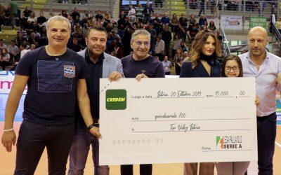 Top Volley – Perugia, lo show di ieri è stato da record! Ecco un po' di dati. Premiati i volontari della Lucky Friends a cui è stato devoluto il premio di Lega