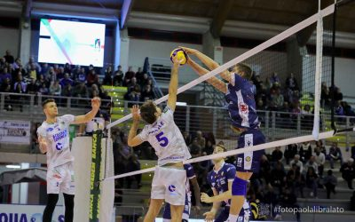 Top Volley Latina vs Consar Ravenna (17/11/19)