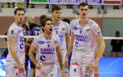 Top Volley Latina vs Vero Volley Monza (10/11/19)