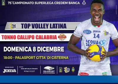Top Volley Latina vs Tonno Callipo Latina