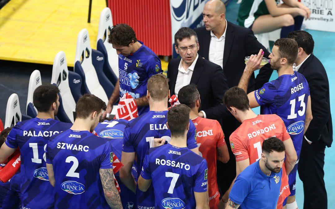 La Top Volley Cisterna cade a Milano (3-1) in casa dell'Allianz Milano