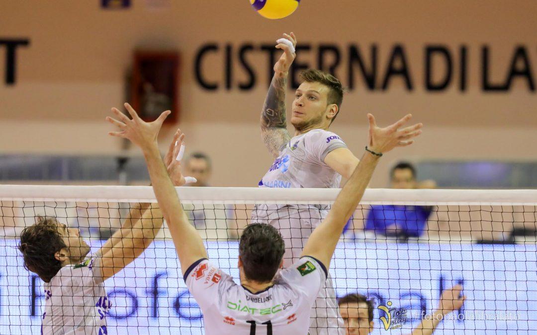 """La Top Volley Cisterna domani (domenica) alle 18 riceve Vibo. Peslac: """"Sfida cruciale per entrambe le squadre"""""""