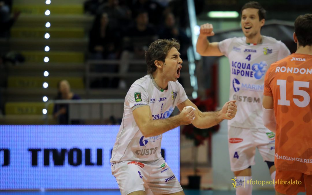 Domenica di fuoco per la Top Volley Cisterna: alle 18 arriva la capolista Lube. Biglietti disponibili anche online