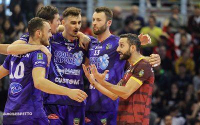 La Top Volley combatte per due ore con Modena ma cede 1-3. Van Garderen: «Siamo andati in difficoltà nel terzo set»