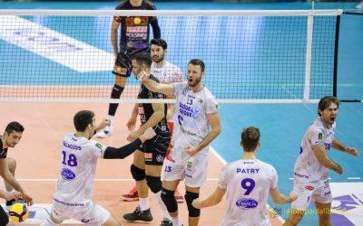La Top Volley si conferma con Sora: ottavo derby vinto su otto. Patry e Szwarc incisivi, ecco le statistiche. Tubertini: «Ora testa a Padova». Il punto sul settore giovanile