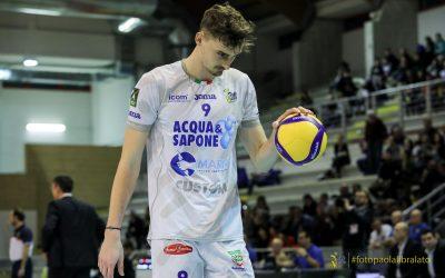 Dopo quelli delle giovanili la Top Volley Cisterna sospende anche gli allenamenti della prima squadra. Grande: «Fermo totale, in questo momento la salute viene prima dello sport»
