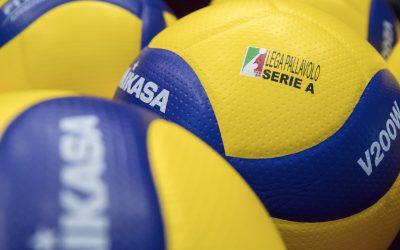 Comunicazione della Lega Pallavolo Serie A sulla sospensione delle competizioni sportive sino al 3 aprile