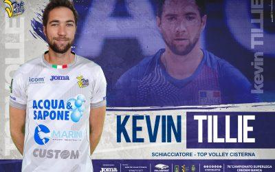 Alla Top Volley Cisterna arriva anche lo schiacciatore Kévin Tillie! «Progetto interessante, vengo per competere con le grandi italiane»