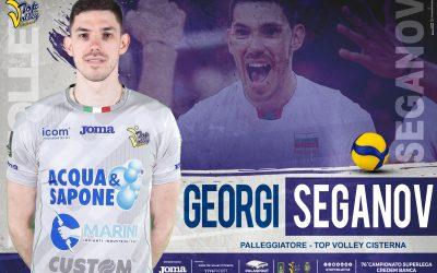 Georgi Seganov alla Top Volley Cisterna «Adoro poter fare grandi cose». Falivene: «Impreziosisce il nostro roster»
