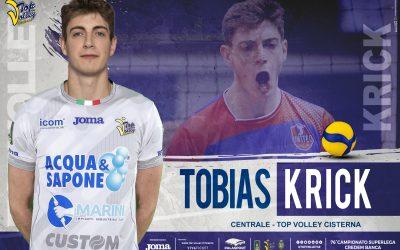 Alla Top Volley Cisterna arriva Tobias Krick, il gigante tedesco ha firmato un biennale. «Felice di arrivare in uno dei club più importanti e storici della Superlega».