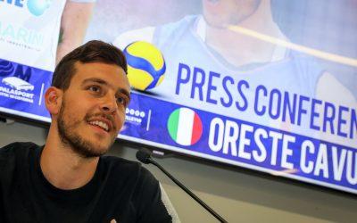 Oreste Cavuto presentato a Cisterna. «Sono orgoglioso di far parte di questo progetto. Sono in una squadra con giocatori importanti»