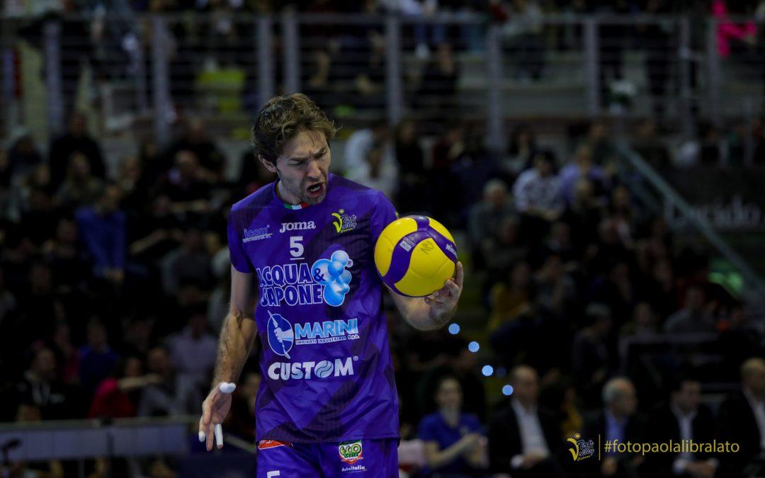 Daniele Sottile e gli 11 anni alla Top Volley Cisterna «Pronto a dare il mio contributo come sempre». Nel mirino c'è anche un record particolare