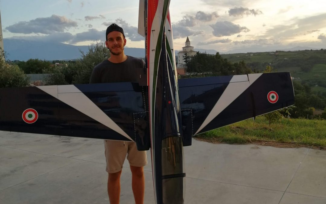 Oreste Cavuto vola in alto: «Con la Top Volley già nel clima giusto, voglio toccare il cielo come le Frecce Tricolori»