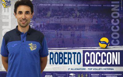 Roberto Cocconi è il nuovo secondo allenatore. Ecco la squadra dei coach che lavorerà con Tubertini