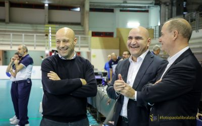 La Top Volley Cisterna parte bene. Randazzo: «Bravi a giocare di squadra». La soddisfazione di Marini e Falivene