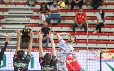 La Top Volley Cisterna cade a Padova (3-2) ed è fuori dalla Del Monte Coppa Italia