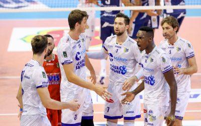 Domani sera (20:30) la Top Volley Cisterna si gioca tutto a Padova nella Del Monte Coppa Italia. La gioia per l'esordio di Rossato, schiacciatore del 2001