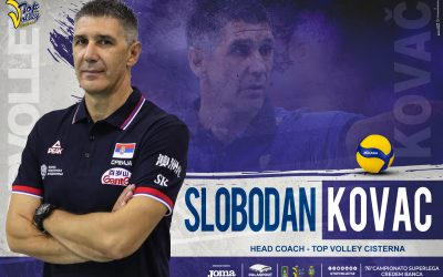 Boban Kovač, il miglior allenatore d'Europa 2019, sarà il nuovo coach della Top Volley Cisterna. «Sempre a testa alta, abbiamo obiettivi da raggiungere»