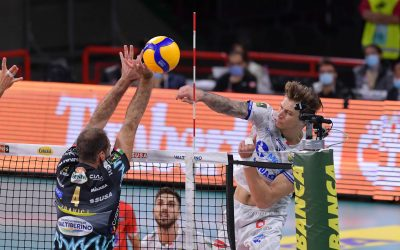 La capolista Perugia ferma la Top Volley Cisterna in tre set. Kovac: «Non era questa la partita da vincere ma potevamo fare qualcosa in più. Ora dobbiamo lottare»
