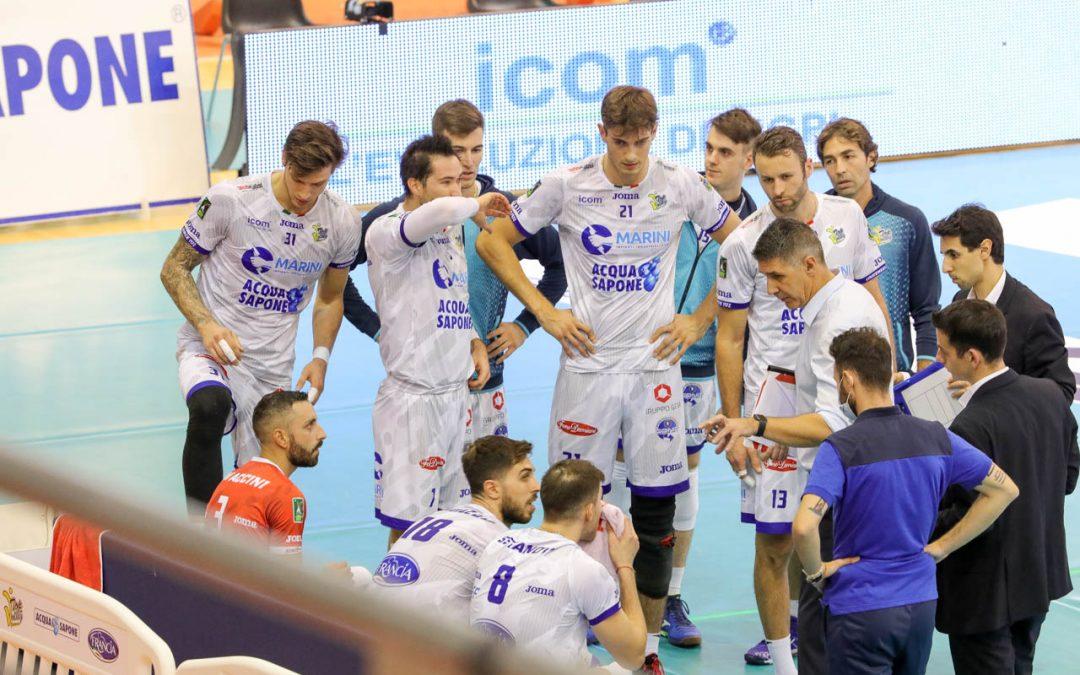 La Top Volley Cisterna in preparazione per i play-off per il quinto posto che mettono in palio la qualificazione alla prossima Challenge Cup