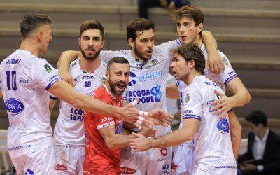 SUPERLEGA: Top Volley Cisterna – Leo Shoes Modena