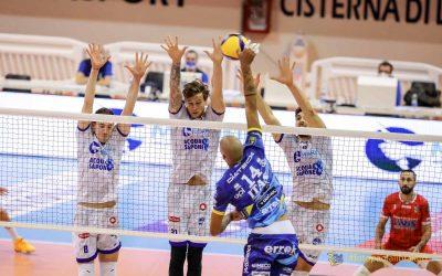SUPERLEGA: Top Volley Cisterna – Itas Trentino