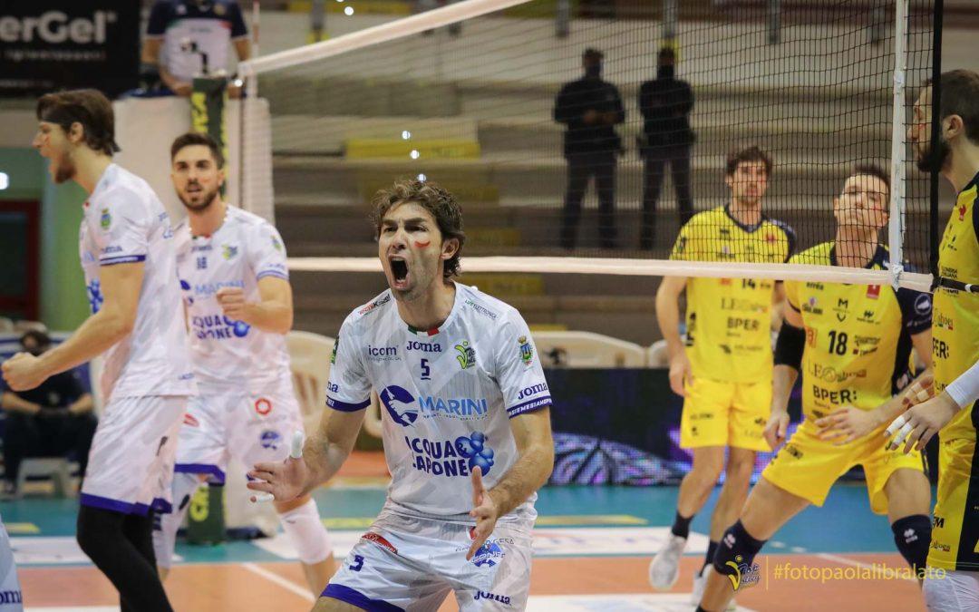 Arriva la Lube, la Top Volley Cisterna riparte dai primi due set di Trento. Sottile: «Delusi per questa stagione ma continueremo a dare il massimo fino alla fine. La voglia di continuare a giocare è tanta»